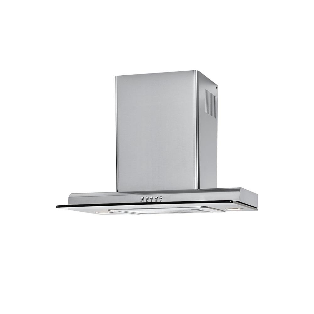 Haier 24 in. Convertible Wall Mount Range Hood with Light in Stainless Steel