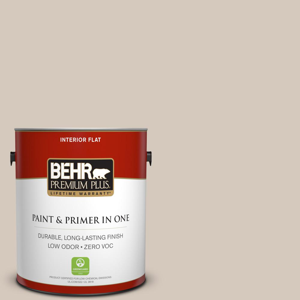 BEHR Premium Plus 1-gal. #N230-2 Old Map Flat Interior Paint