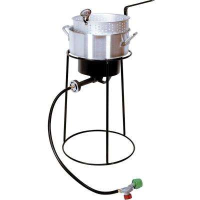 54,000 BTU Portable Propane Gas Outdoor Cooker with Aluminum Fry Pan