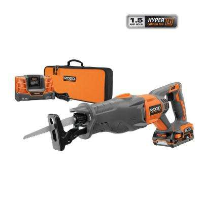 X4 18-Volt Hyper Lithium-Ion Cordless Reciprocating Saw Kit