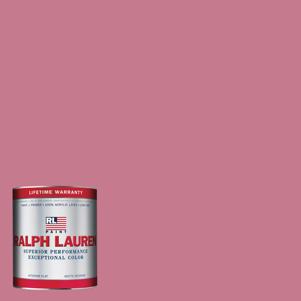Ralph Lauren 1-qt. Jackie Pink Flat Interior Paint