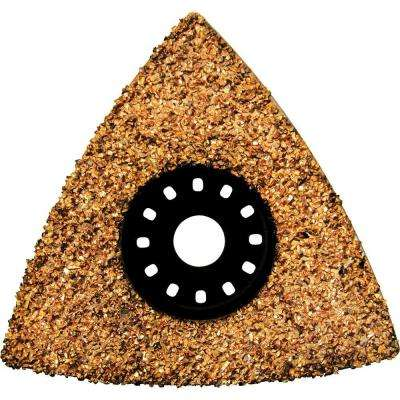3 in. Tungsten Carbide Tipped Scraping Plate, Compatible with Oscillating Multi Tools