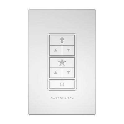 Indoor/Outdoor White Wall Switch