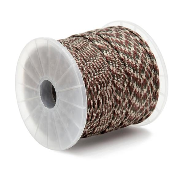 5/32 in. x 400 ft. Nylon Camo Paracord 550 Rope - Type III Mil-Spec 7-Strand Utility Survival Parachute Cord