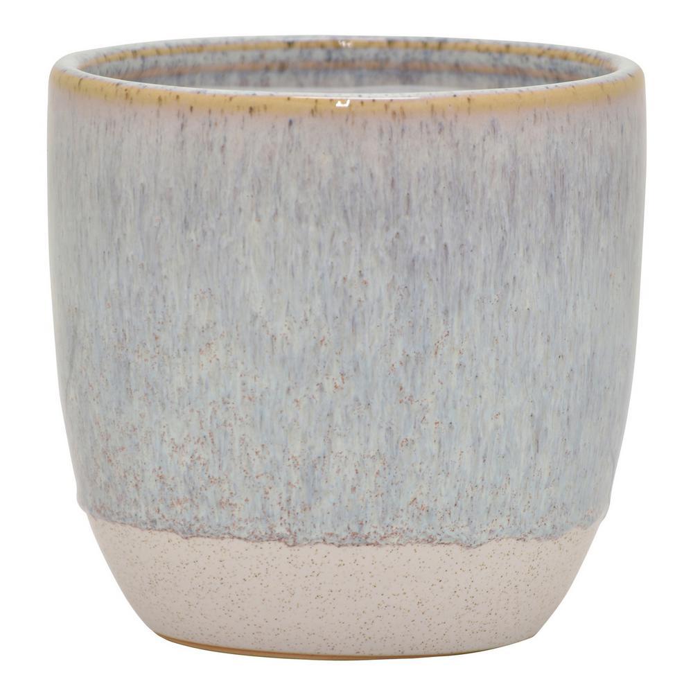 White Ceramic Plant Pots Planters The Home Depot