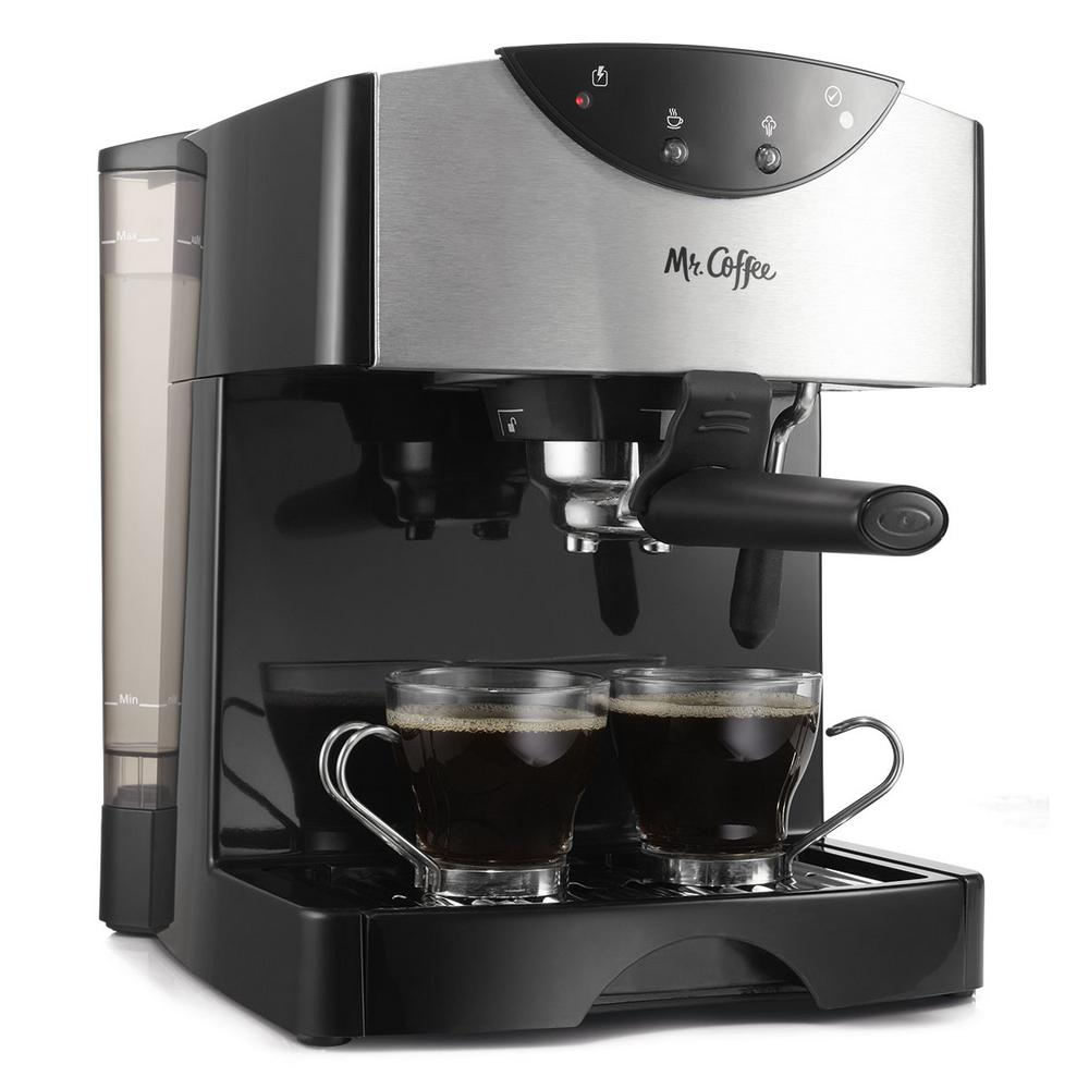 Coffee Maker Barista : Mr. Coffee Pump Expresso Maker-ECMP50-RB - The Home Depot