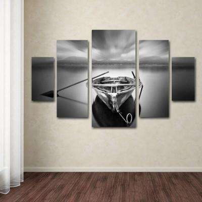Ready by Moises Levy 5-Panel Wall Art Set
