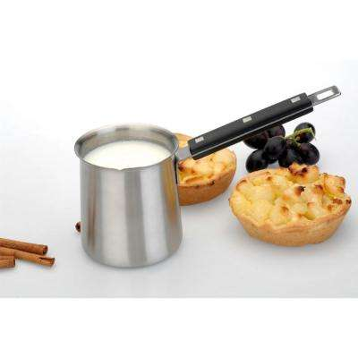 Cubo 18/10 Stainless Steel 3.25 in. 10.5 oz. Milk Frother