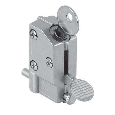 Keyed Step-on Sliding Door Lock