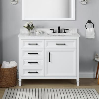 42 Inch Vanities Bathroom Vanities Bath The Home Depot