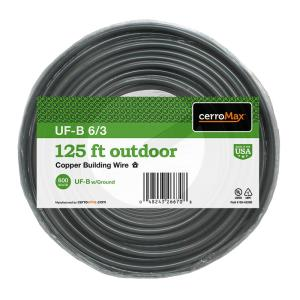 125 ft. 6/3 UF-B Cable