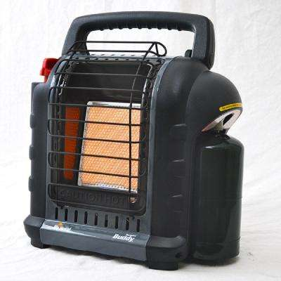 9,000 BTU Radiant Propane Portable Heater in Grey