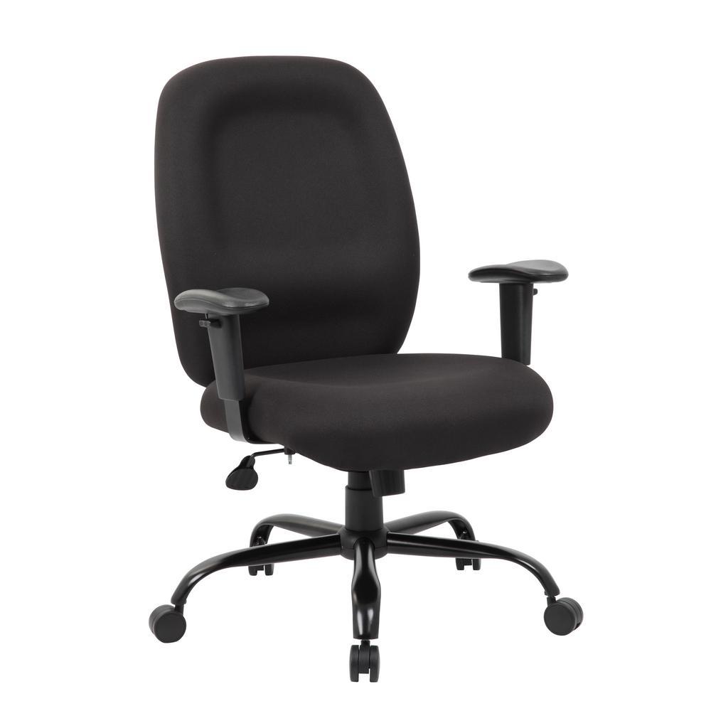 undefined Black Heavy Duty Task Chair