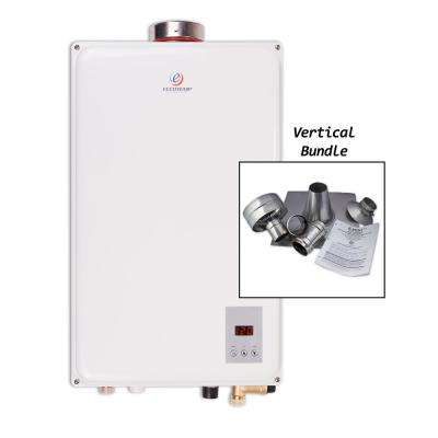 Eccotemp 45HI-NG 6.8 GPM WholeHome 140,000 BTU CSA Approved Natural Gas Indoor Tankless Water Heater Vertical Bundle