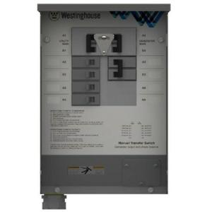 Westinghouse 30-Amp Manual Transfer Switch by Westinghouse