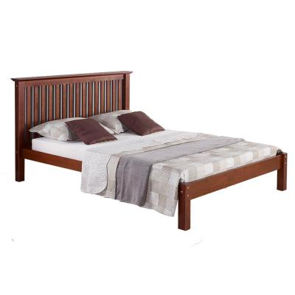 Barcelona Chestnut Queen Bed