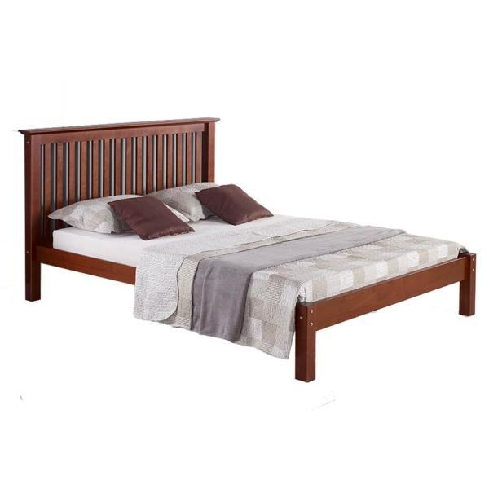 Alaterre Furniture Barcelona Chestnut Queen Bed