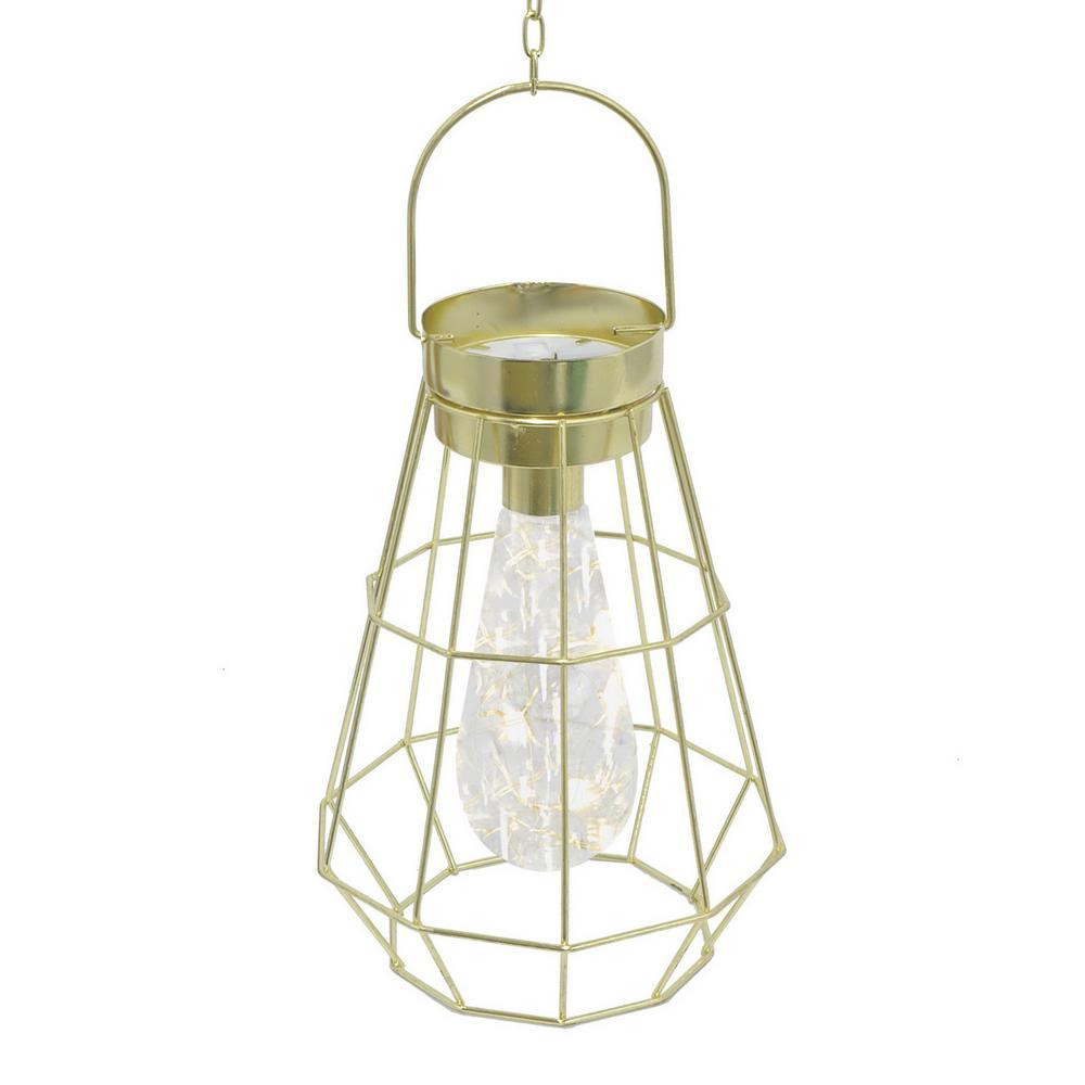 Gold Metal LED Lamp