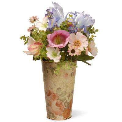 17 in. Garden Accents Flower Assortment