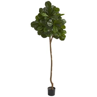 Indoor 7 in. Fiddle Leaf Fig Artificial Tree