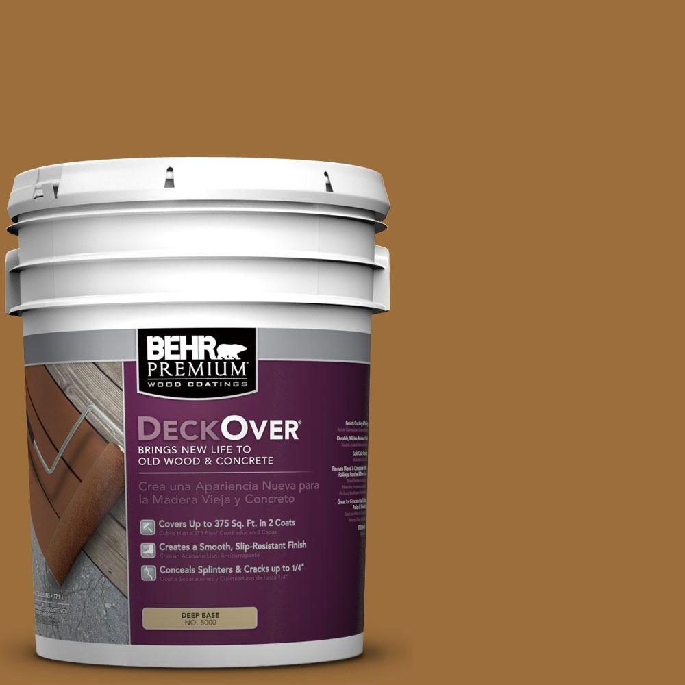 5 gal. #SC-146 Cedar Solid Color Exterior Wood and Concrete Coating