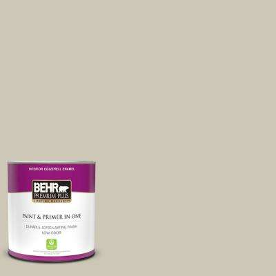 1 qt. #PPU8-16 Coliseum Marble Eggshell Enamel Low Odor Interior Paint and Primer in One