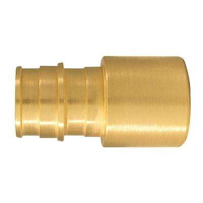3/4 in. Brass PEX-A Expansion Barb x 3/4 in. Female Sweat Adapter (5-Pack)