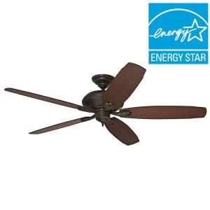 Hunter Headley 64 inch Indoor Cocoa Bronze Ceiling Fan by Hunter