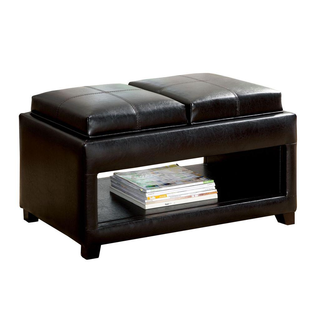 Venetian Worldwide Ely Espresso Bench Cm Bn6102 The Home Depot