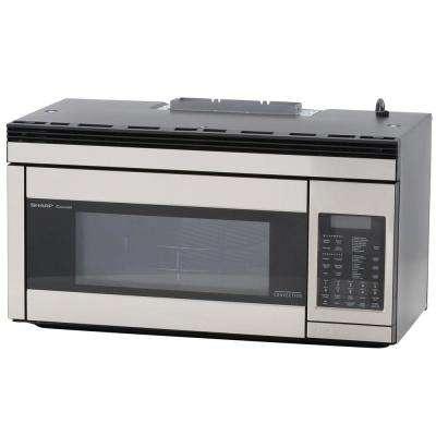 1.1 cu. ft. Over the Range Convection Microwave in Stainless Steel