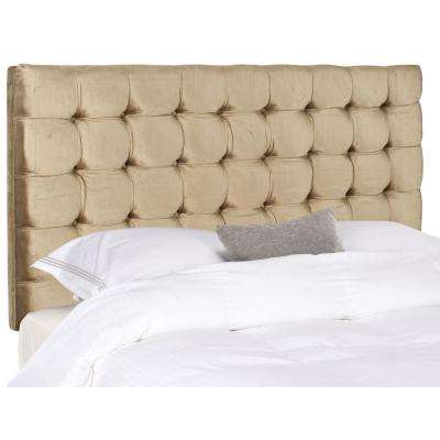 Lamar Antique Sage Queen Headboard