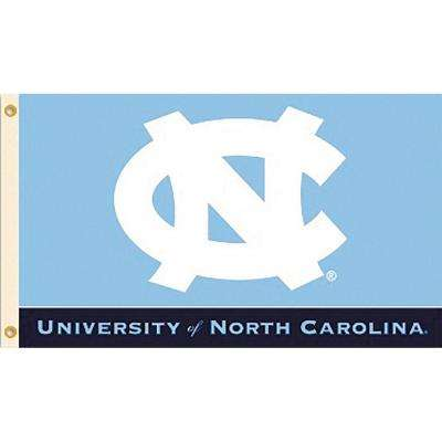 NCAA University of North Carolina 3 ft. x 5 ft. Collegiate 2-Sided Flag with Grommets