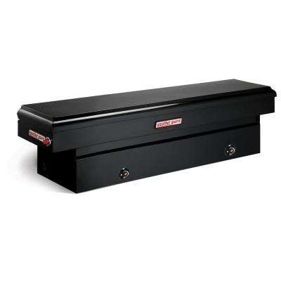 Full-Size Steel Saddle Box in Black