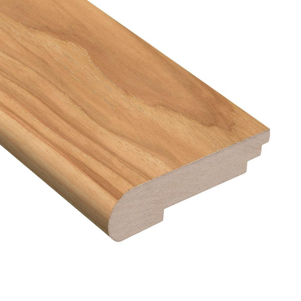 Wire Brushed Natural Hickory 3/8 in. Thick x 3-1/2 in. Wide
