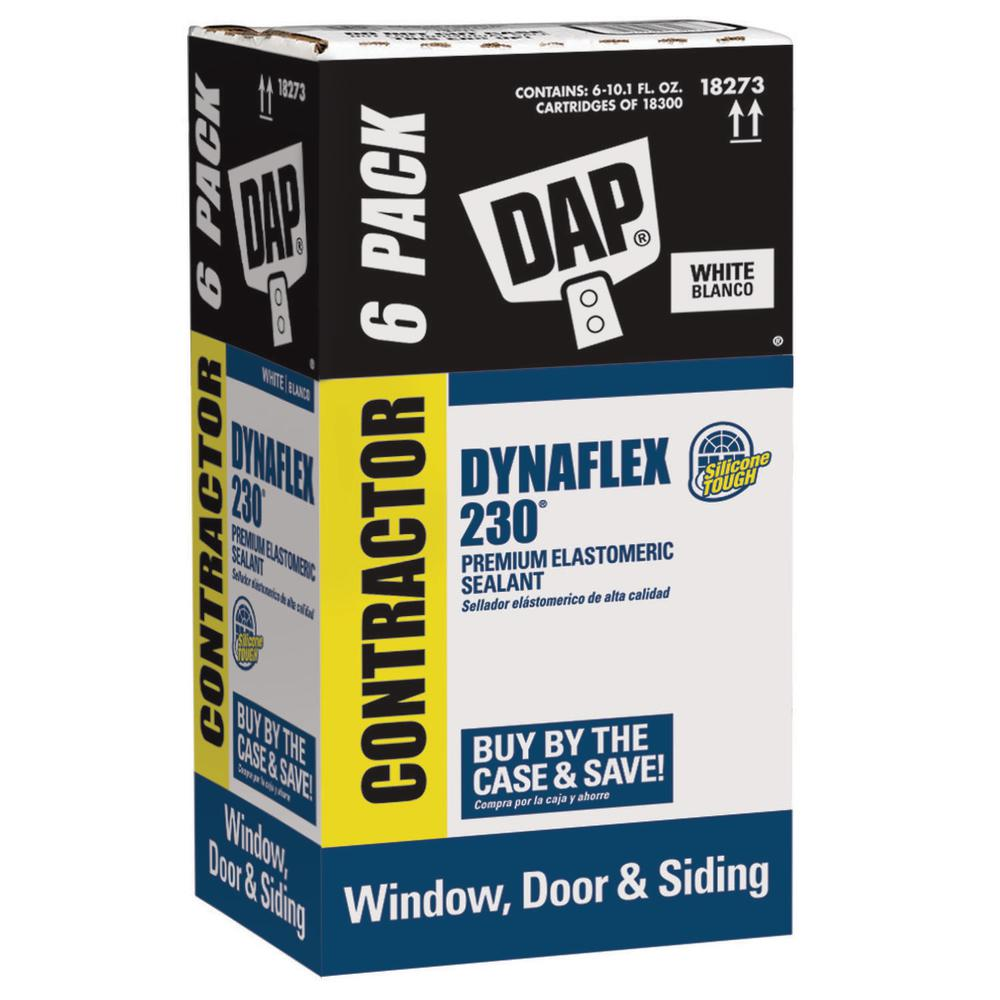 DAP Dynaflex 230 10.1 fl. oz. Premium Indoor/Outdoor Sealant (6-Pack)