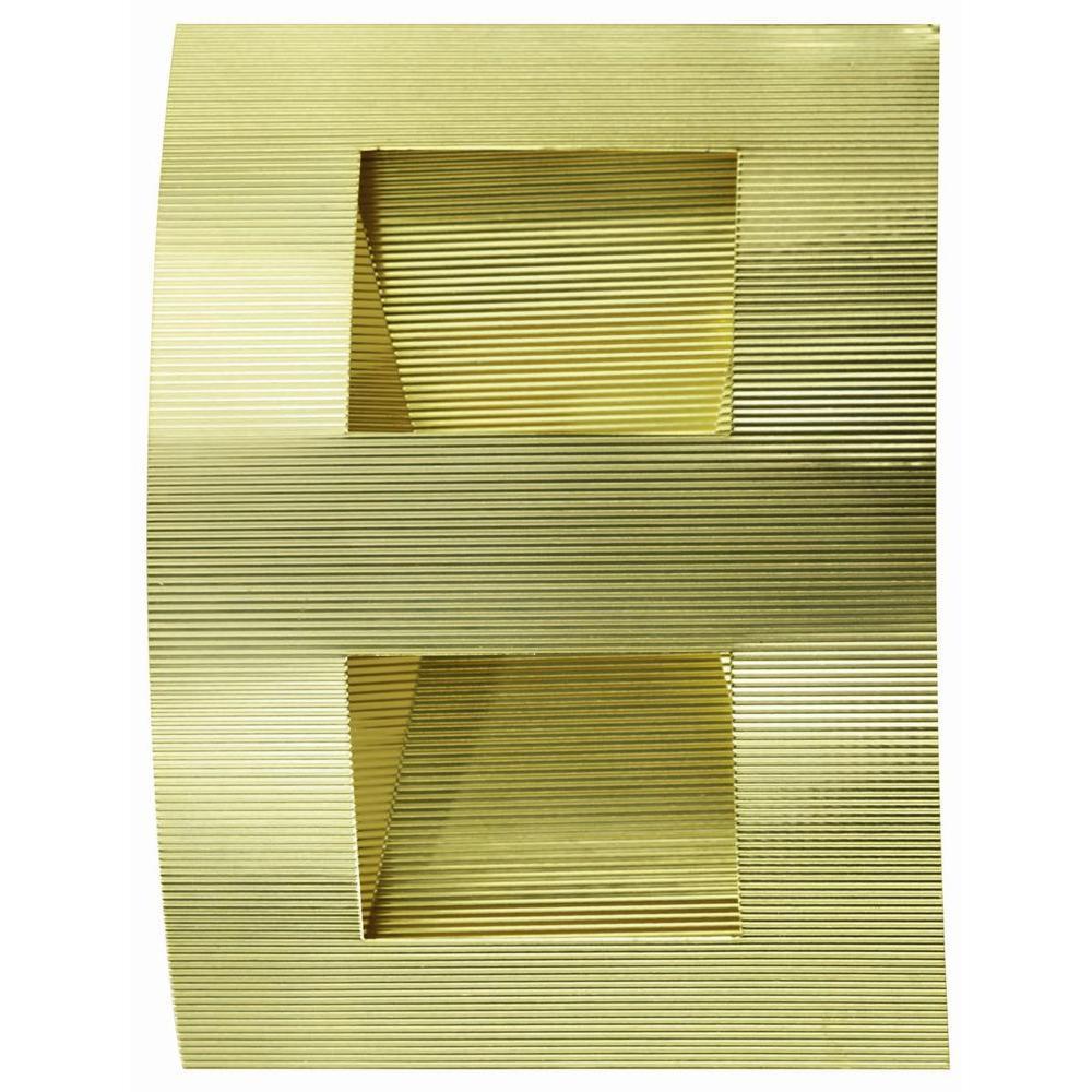 Illumine 1-Light Polished Brass Wall Lamp by Illumine