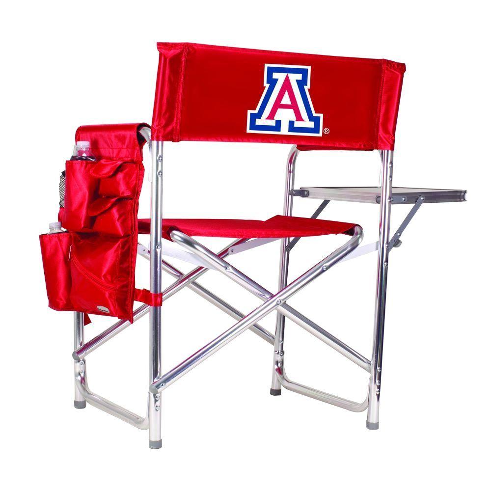 University of Arizona Red Sports Chair with Digital Logo