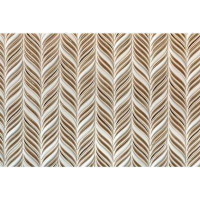 Oracle Alula Sea Wind 10-1/4 in. x 11-7/8 in. x 10mm Glazed Ceramic Mosaic Tile