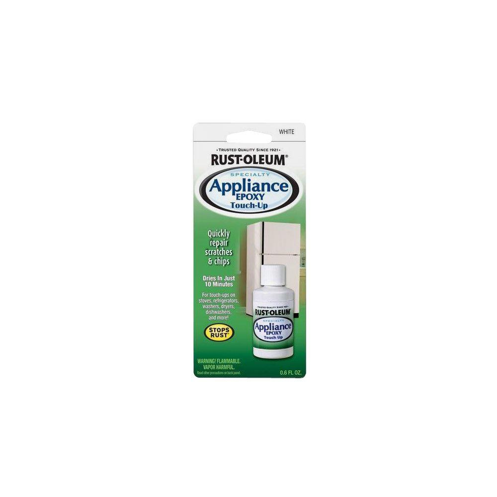Rust-Oleum Specialty 0.6 oz. Gloss White Appliance Touch-Up Paint ...