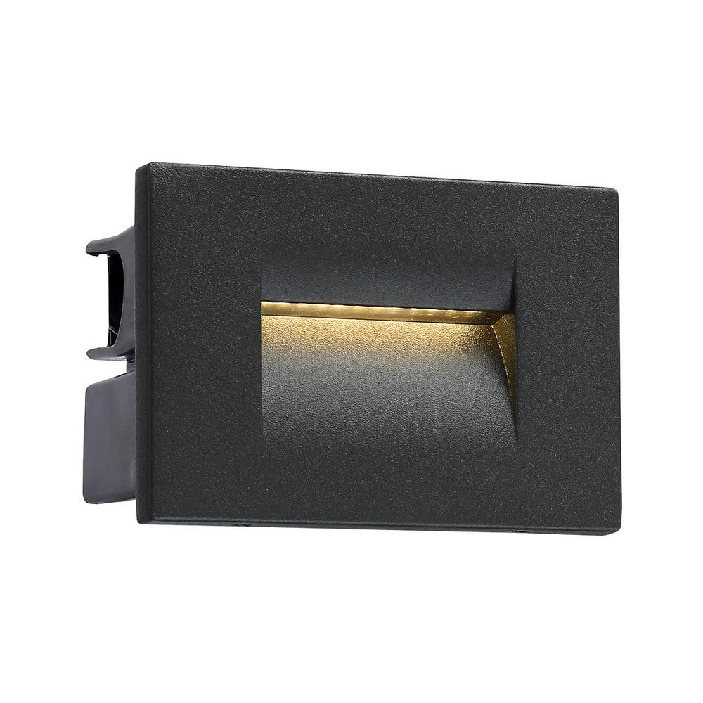 Eurofase 1 -Light Graphite Grey Outdoor Integrated LED Wall Lantern Sconce