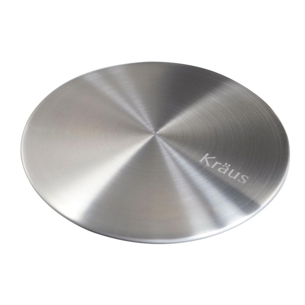 . KRAUS CapPro Removable Decorative Drain Cover