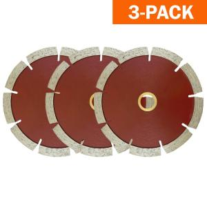 "5 PACK 4/"" Granite Turbo Diamond Saw Blade For angle grinder masonry Pro Grade"