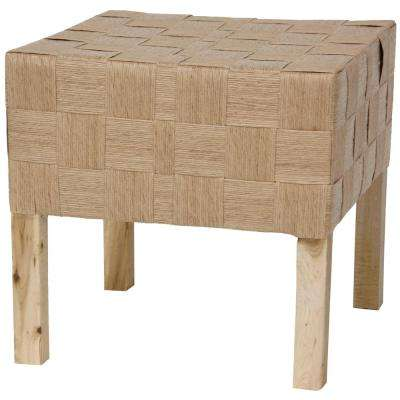 Natural Accent Ottoman