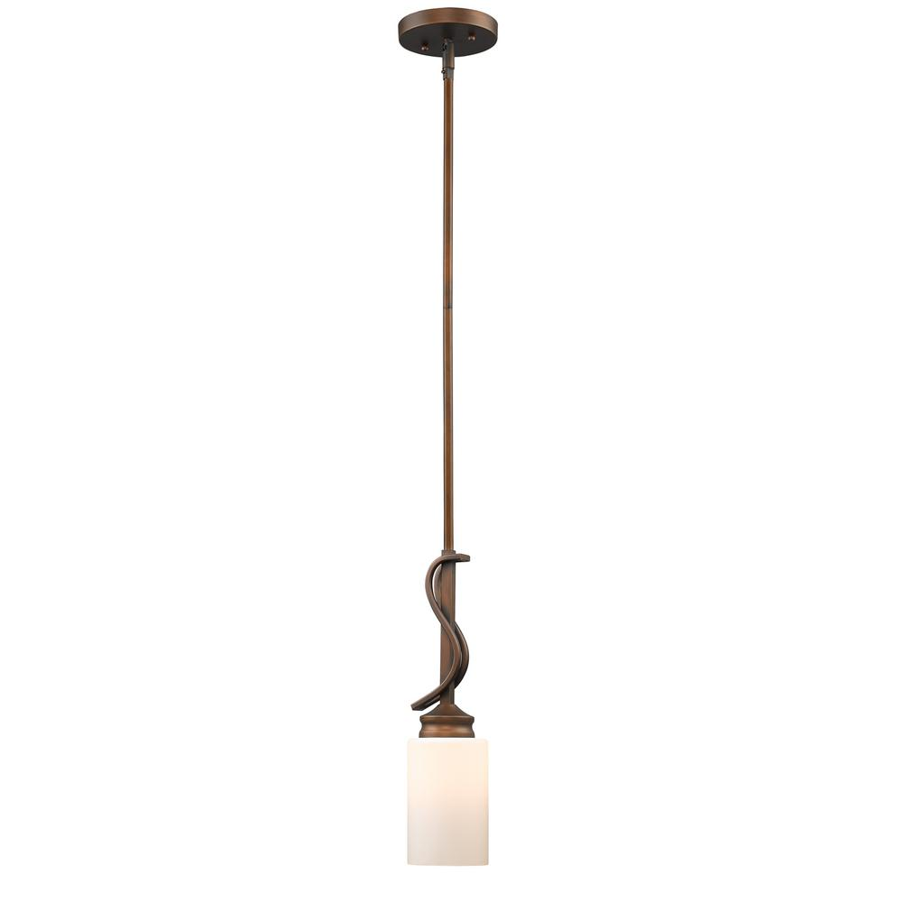 Holborn Collection 1-Light Sovereign Bronze Mini Pendant