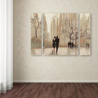 "30 in. x 41 in. ""An Evening Out Neutral"" by Julia Purinton Printed Canvas Wall Art"