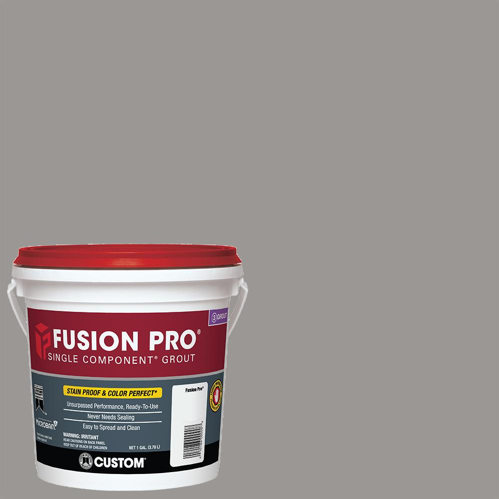Custom Building Products Fusion Pro #165 Delorean Gray 1 Gal. Single Component Grout