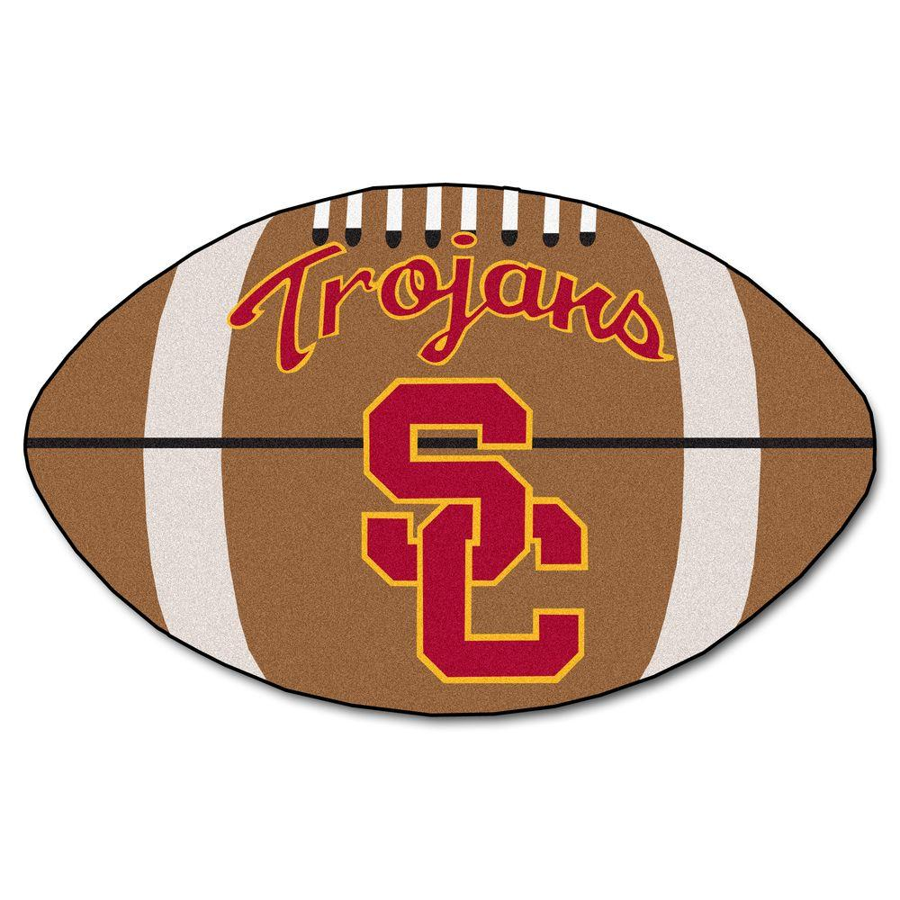 Fanmats Ncaa University Of Southern California Brown 2 Ft