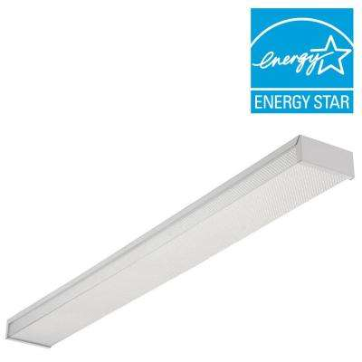 3348 2L32W WRAP 2-Light White Utility Light Wraparound