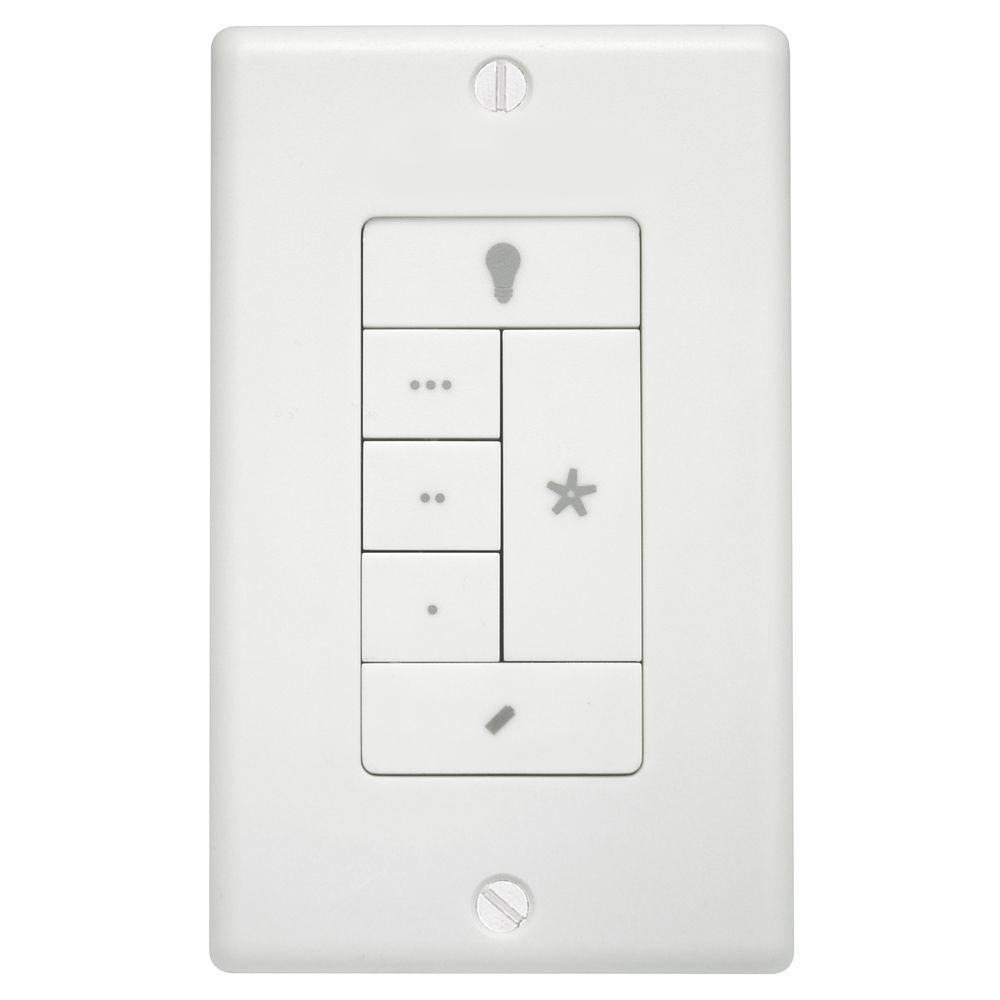 Hunter fanlight wall remote control 99120 the home depot hunter fanlight wall remote control aloadofball Images