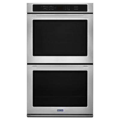 30 in. Double Electric Wall Oven with True Convection in Fingerprint Resistant Stainless Steel